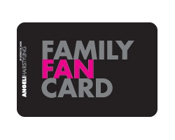 Family Fan Card