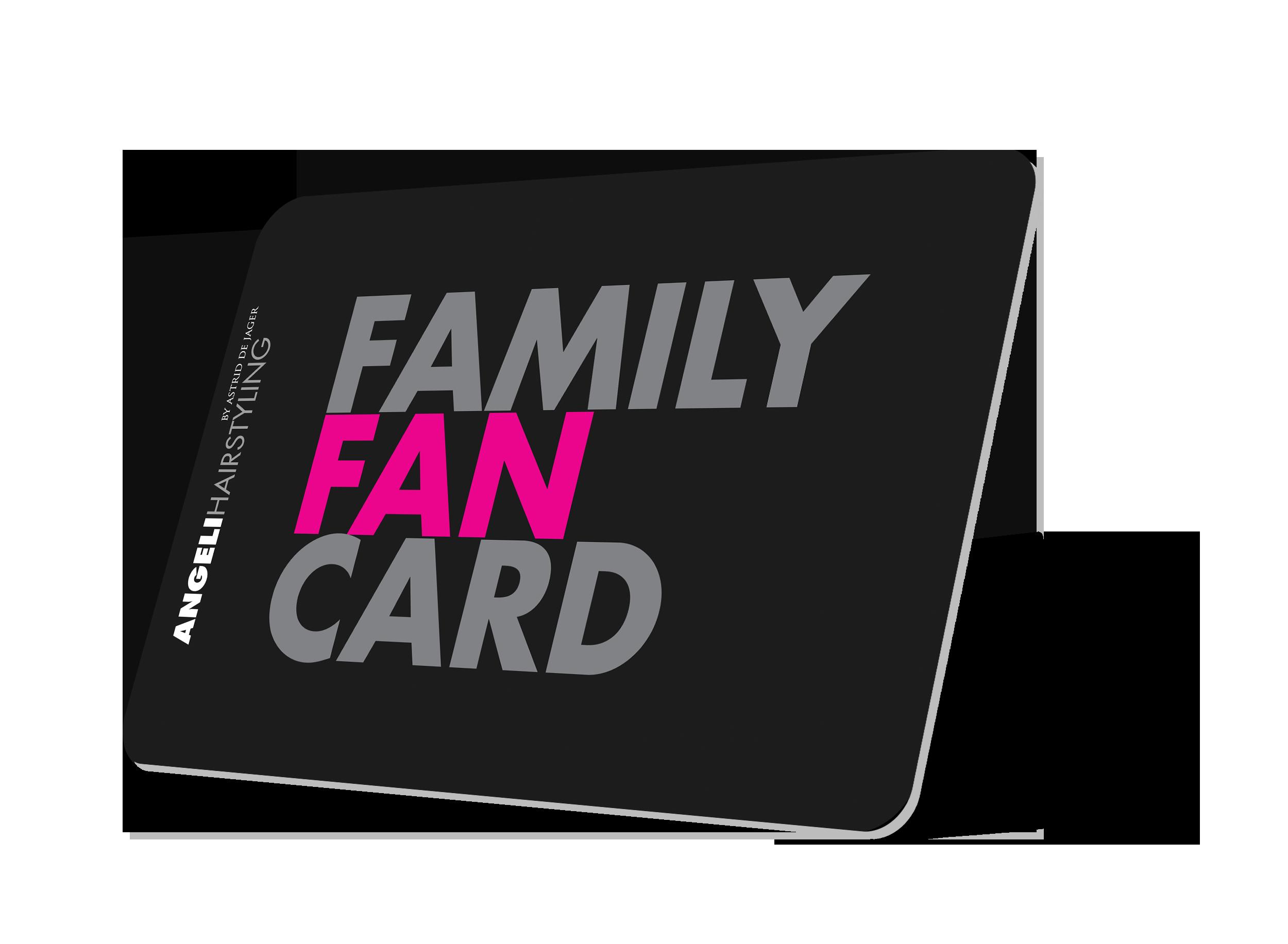 Family Fan Card